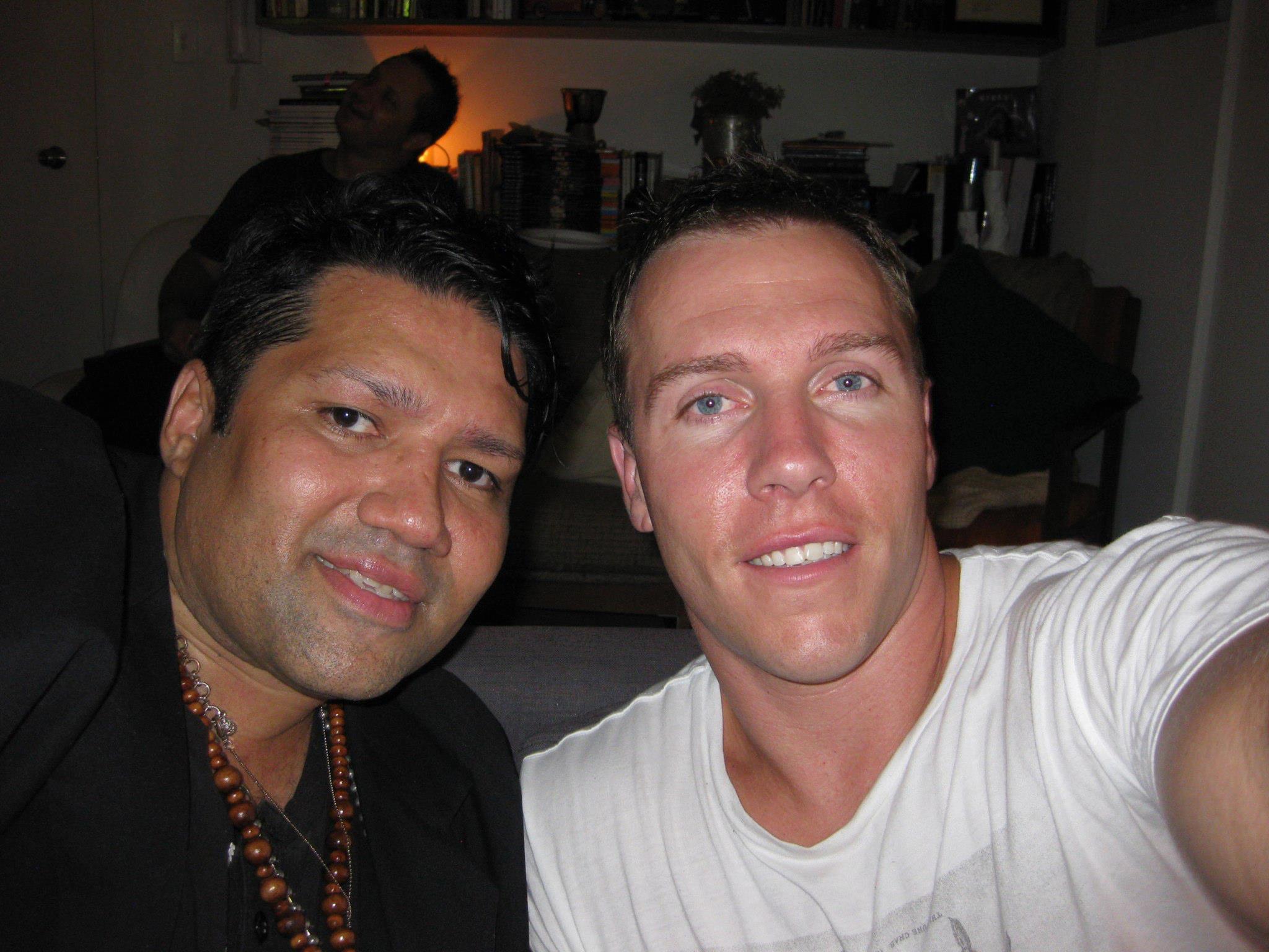 Shaun and I at my birthday party February 2011