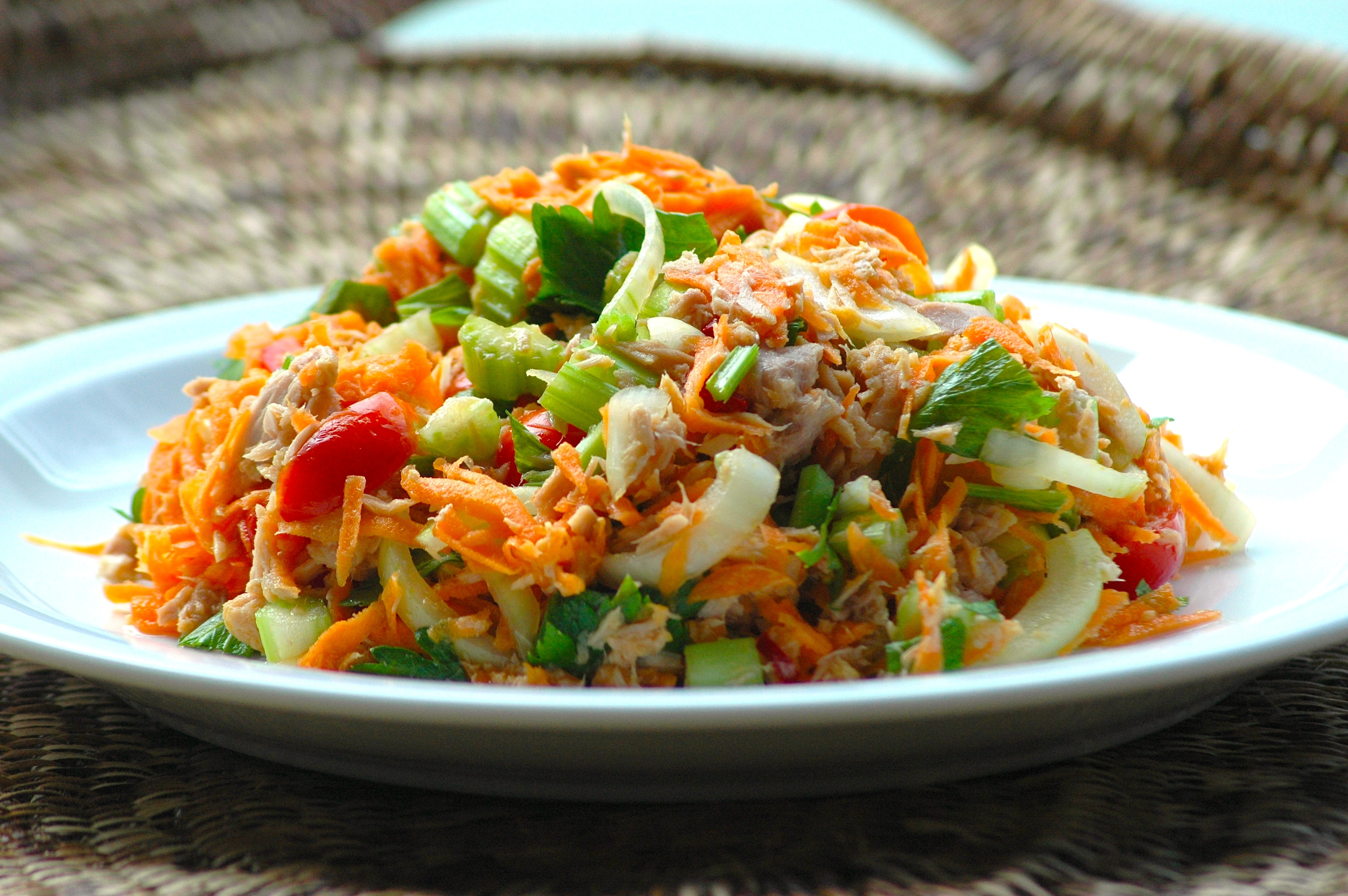 Carrot tuna salad 2