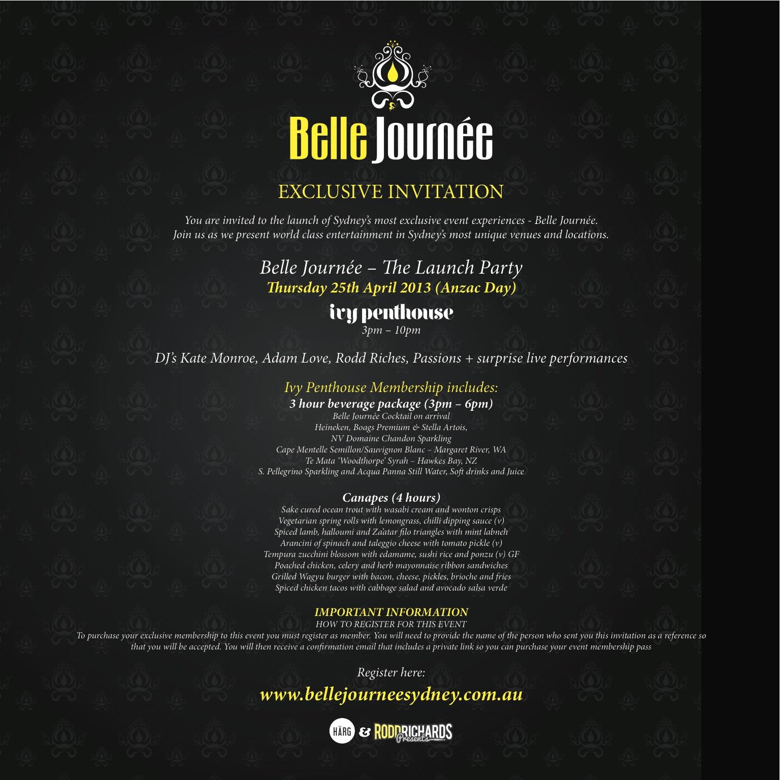 Belle Journée e-invite